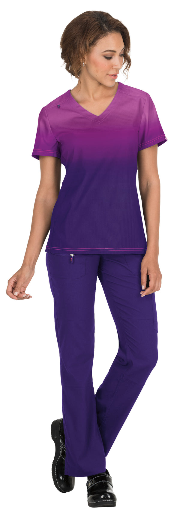 Koi Lite- Mulberry/Grape Reform Top