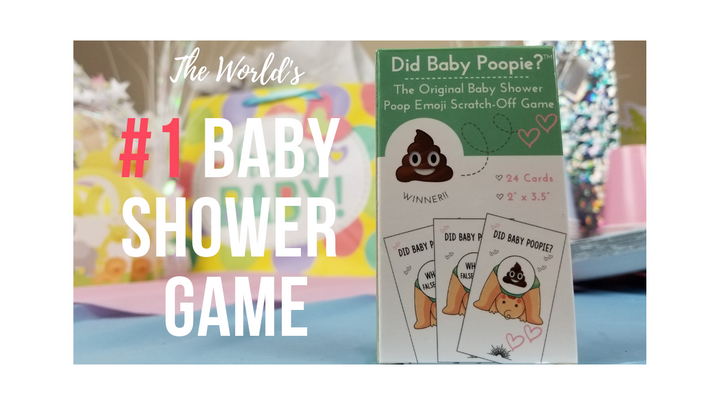 The Worlds #1 Baby Shower Game