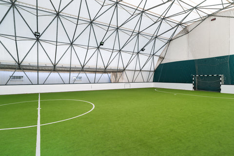 Indoor soccer artificial turf