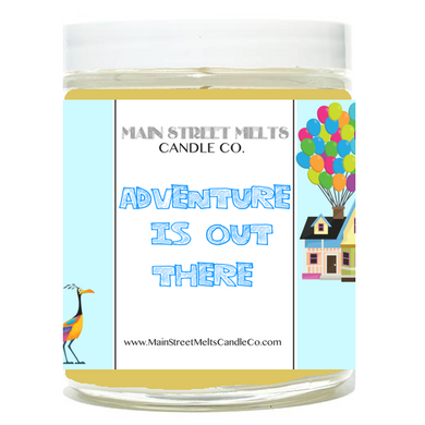 ADVENTURE IS OUT THERE Disney Candle 9oz
