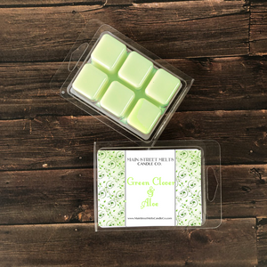 GREEN CLOVER & ALOE Soy Wax Melt