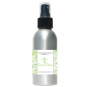 GREEN CLOVER & ALOE Room Spray
