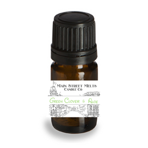 GREEN CLOVER & ALOE Fragrance Oil 5mL Disney Inspired