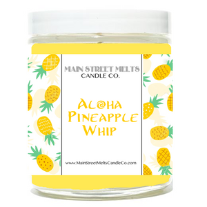 ALOHA PINEAPPLE WHIP Disney Candle 9oz