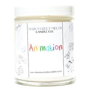 ANIMATION Disney Candle 9oz
