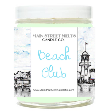 BEACH CLUB Disney Candle 9oz