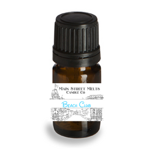 BEACH CLUB Fragrance Oil 5mL Disney Inspired