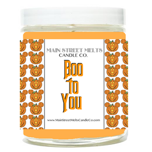 BOO TO YOU Disney Candle 9oz