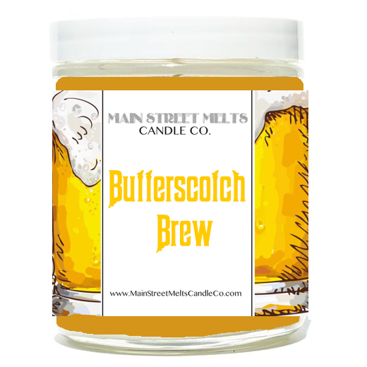 BUTTERSCOTCH BREW Disney Candle 9oz