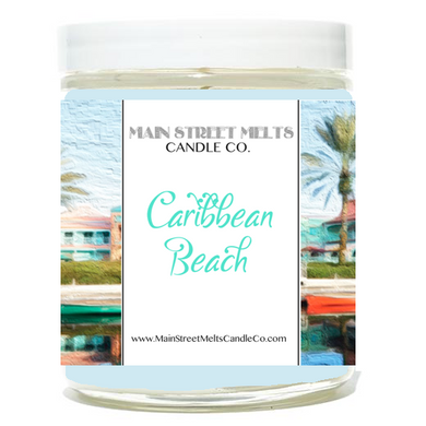 CARIBBEAN BEACH Disney Candle 9oz