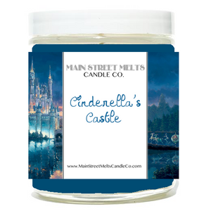 CINDERELLA'S CASTLE Disney Candle 9oz