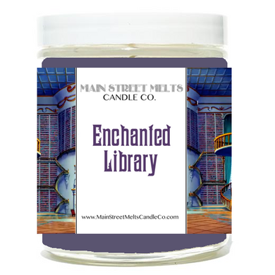 ENCHANTED LIBRARY Disney Candle 9oz