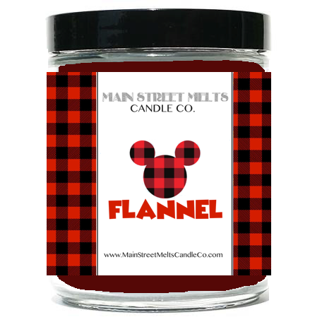 FLANNEL Disney Candle 9oz