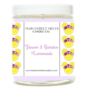 FLOWER & GARDEN LEMONADE Disney Candle 9oz