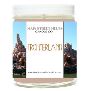 FRONTIERLAND Disney Candle 9oz