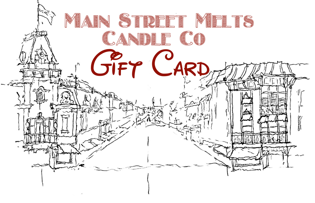 Main Street Melts Candle Co. $50 GIFT CARD