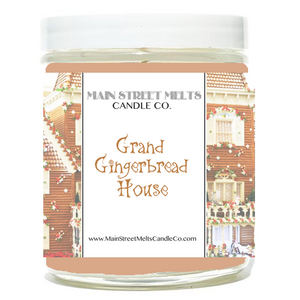 GRAND GINGERBREAD HOUSE Disney Candle 9oz