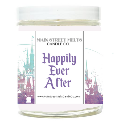 HAPPILY EVER AFTER Disney Candle 9oz