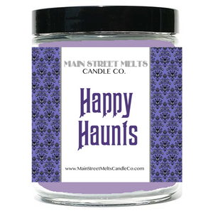 HAPPY HAUNTS Disney Candle 9oz