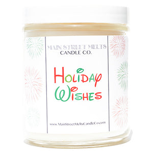 HOLIDAY WISHES Disney Candle 9oz