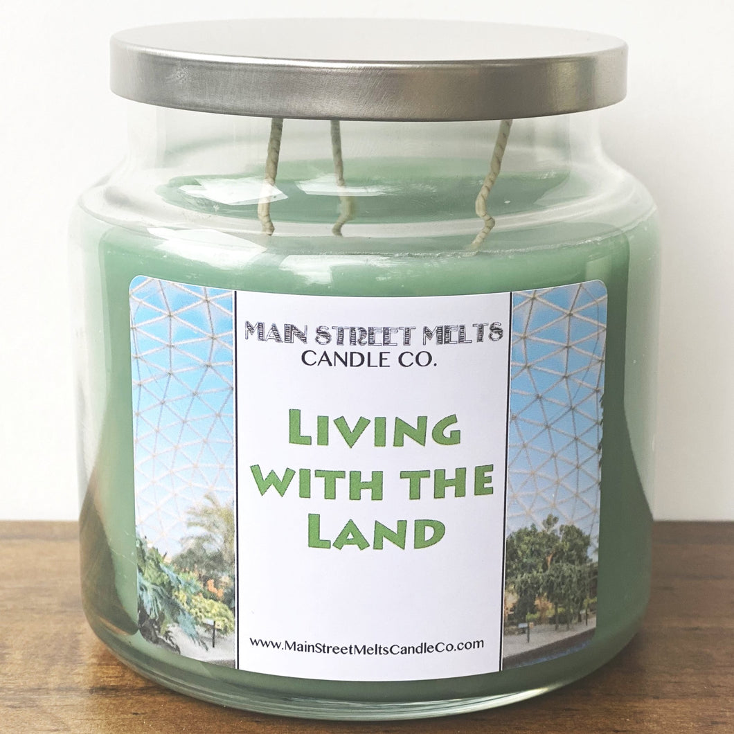 LIVING WITH THE LAND Disney Candle 18oz