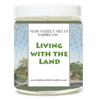 LIVING WITH THE LAND Disney Candle 9oz