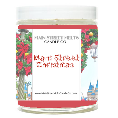 MAIN STREET CHRISTMAS Disney Candle 9oz