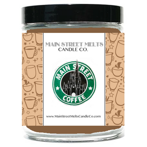 MAIN STREET COFFEE Disney Candle 9oz