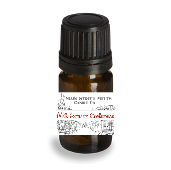 MAIN STREET CHRISTMAS Fragrance Oil 5mL Disney Inspired