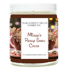 MICKEY'S REALLY SWELL COCOA Disney Candle 9oz