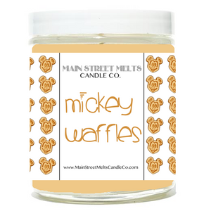 MICKEY WAFFLES Disney Candle 9oz