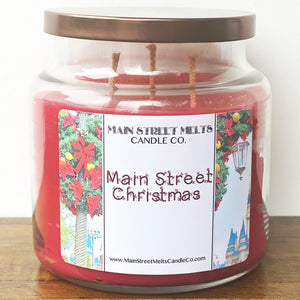 MAIN STREET CHRISTMAS Disney Candle 18oz