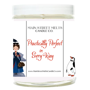 PRACTICALLY PERFECT IN EVERY WAY Disney Candle 9oz