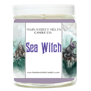 SEA WITCH Disney Candle 9oz
