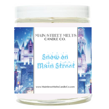 SNOW ON MAIN STREET Disney Candle 9oz