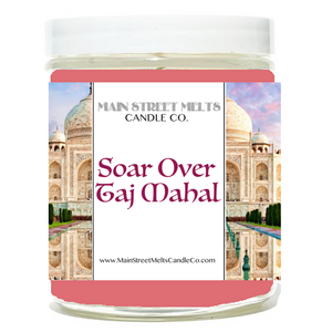 SOAR OVER TAJ MAHAL Disney Candle 9oz