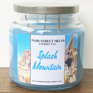 SPLASH MOUNTAIN Disney Candle 18oz