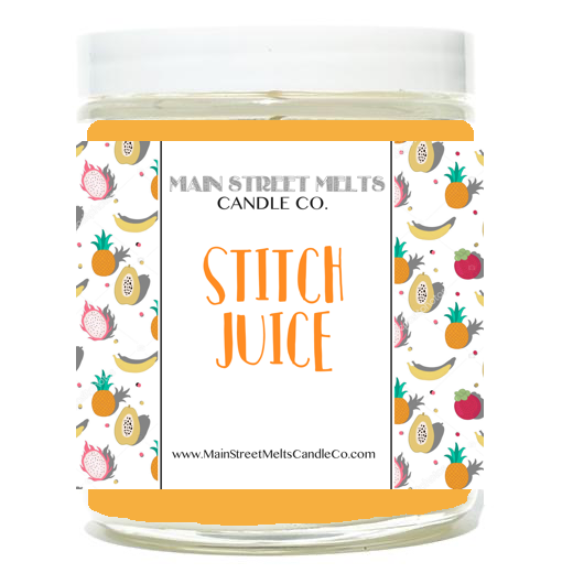 STITCH JUICE Disney Candle 9oz