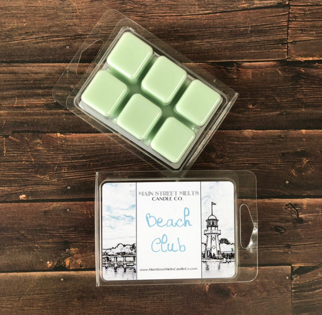 BEACH CLUB Soy Wax Melt