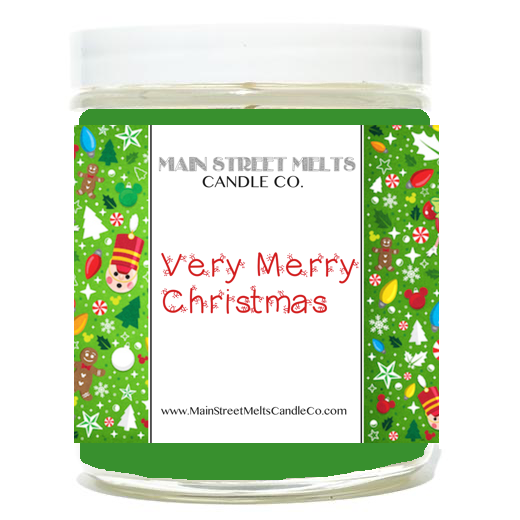 VERY MERRY CHRISTMAS Disney Candle 9oz