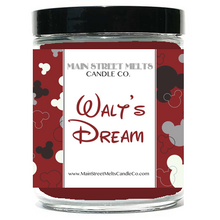 WALT'S DREAM Disney Candle 9oz