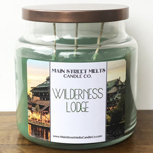WILDERNESS LODGE Disney Candle 18oz