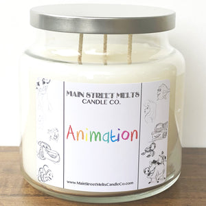 ANIMATION Disney Candle 18oz