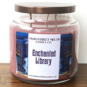 ENCHANTED LIBRARY Disney Candle 18oz