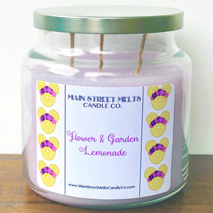 FLOWER & GARDEN LEMONADE Disney Candle 18oz