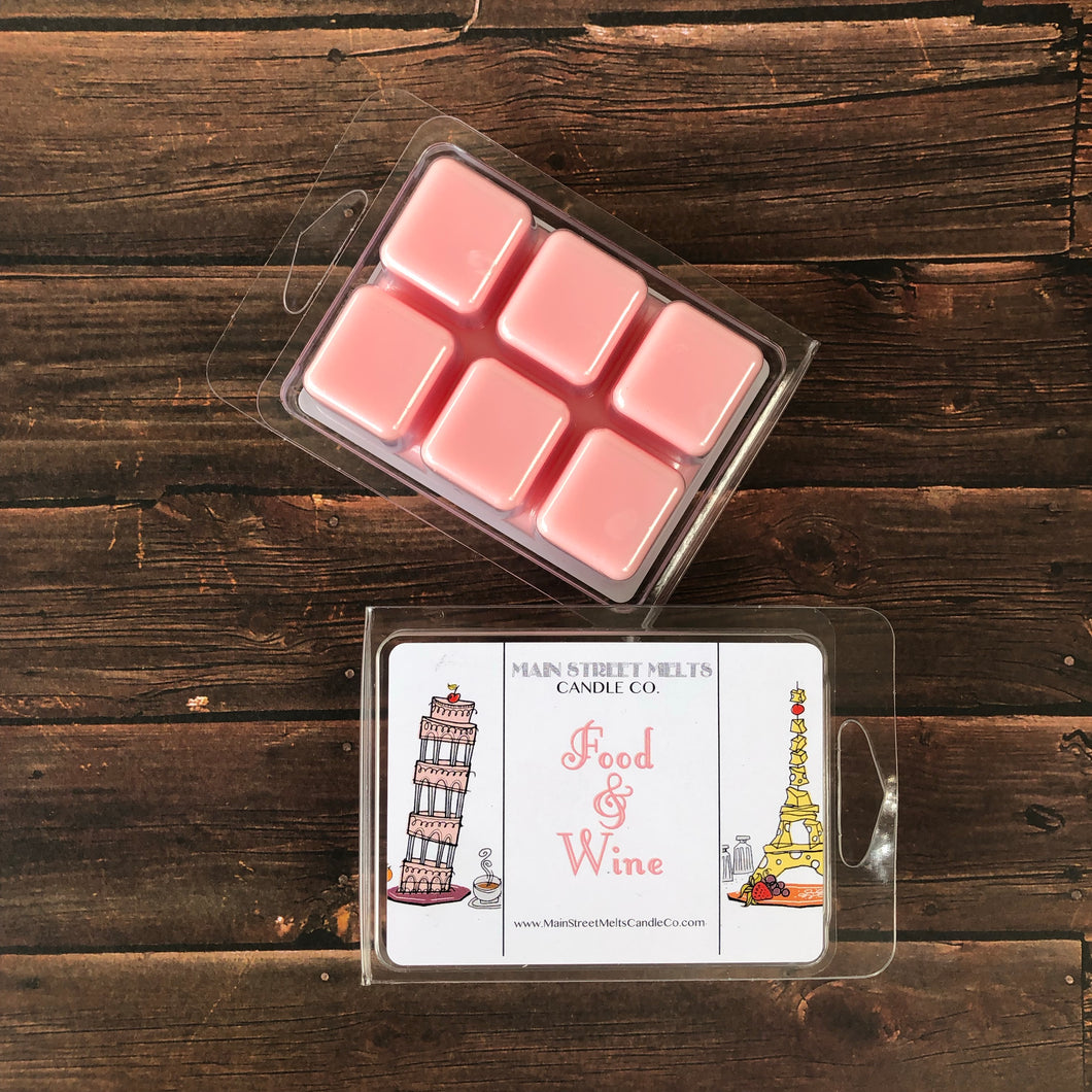FOOD & WINE Soy Wax Melt