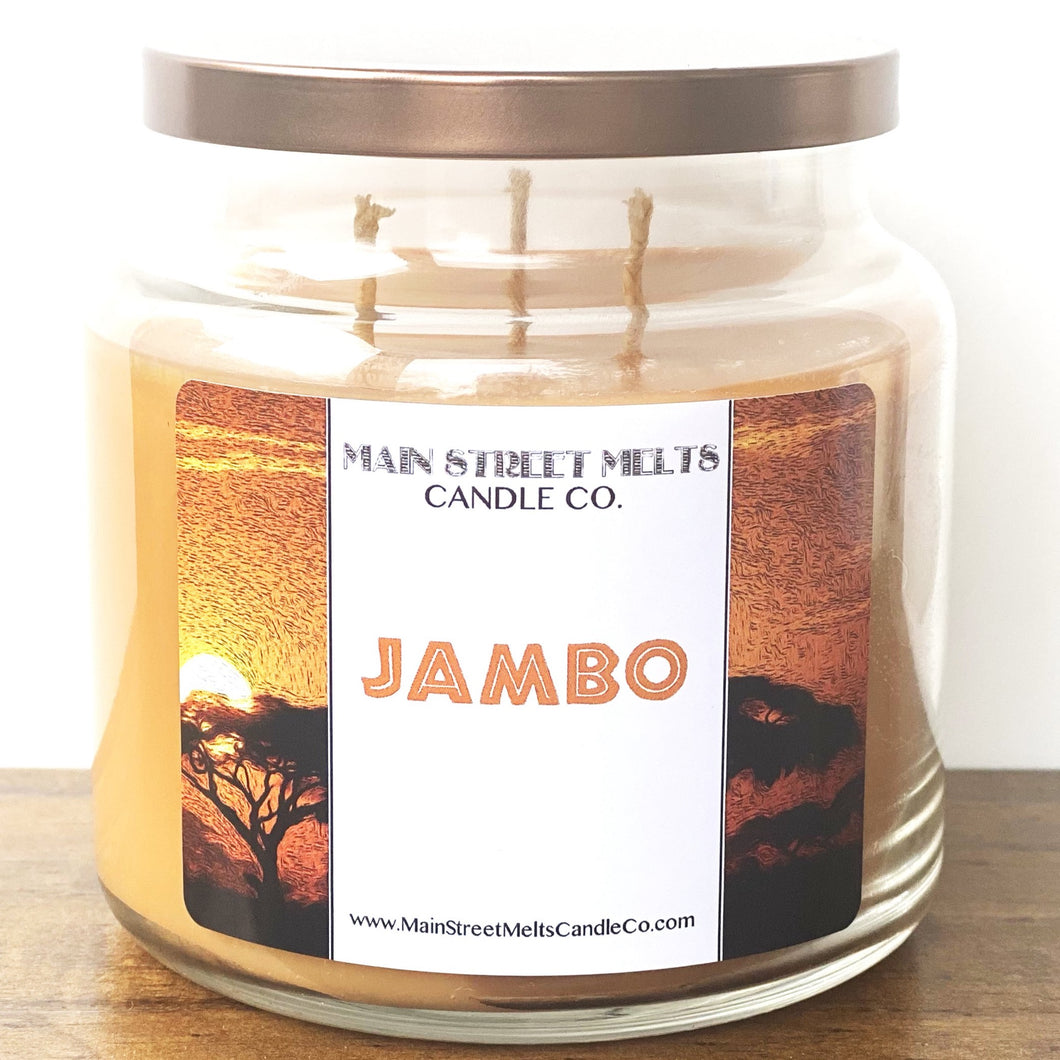 JAMBO Disney Candle 18oz
