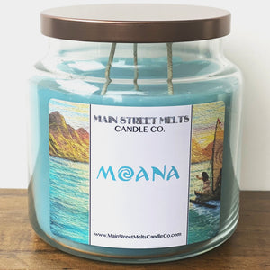 MOANA Disney Candle 18oz