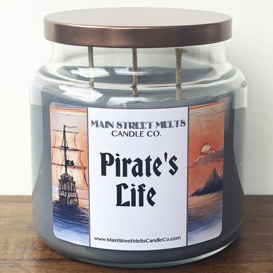PIRATES Disney Candle 18oz