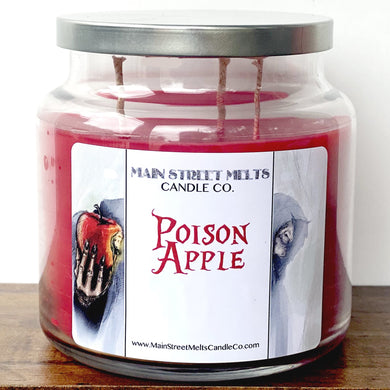 POISON APPLE Disney Candle 18oz